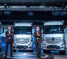 Trucks you can trust  賓士New Actros